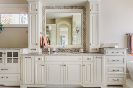 Classic Transitional Bathroom Remodel Quotes